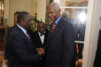 Abdou Diouf président OIF et Macky Sall