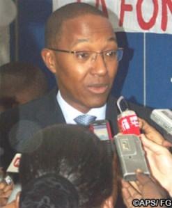 Le premier ministre Abdoul Mbaye