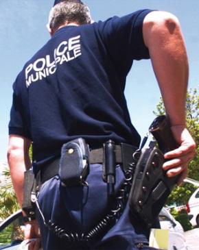 Photo policier (illustration)