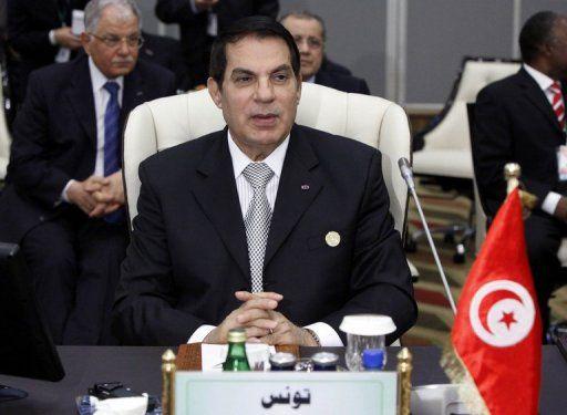 Ben Ali, ancien président de Tunisie