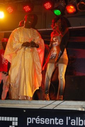 Queen Biz et Malick Gackou