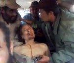video postée sur youtube, mort de khadafi