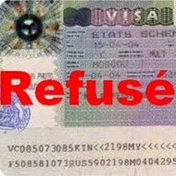 Refus de visa en France